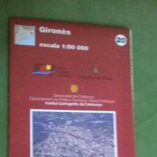 Mapas contemporáneos: MAPA GIRONES. Lote 57528999