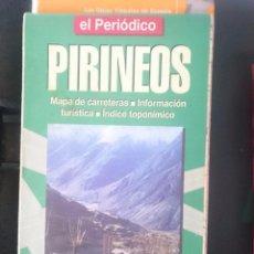 Mapas contemporáneos: MAPA PIRINEOS - ED. EL PERIODICO -REFM1E3. Lote 58066601