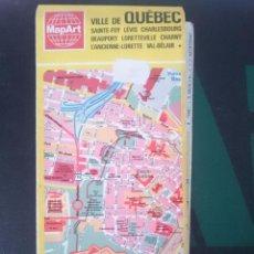 Mapas contemporáneos: MAPA DE QUEBEC - CANADA - EN FRANCES -REFM1E3. Lote 58066653