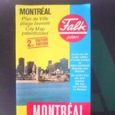 Mapas contemporáneos: MAPA DE MONTREAL - CANADA - EN INGLES Y FRANCES -REFM1E3. Lote 58066667
