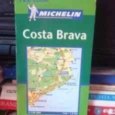 Mapas contemporáneos: MAPA COSTA BRAVA - ED MICHELIN --REFM1E4. Lote 58086833