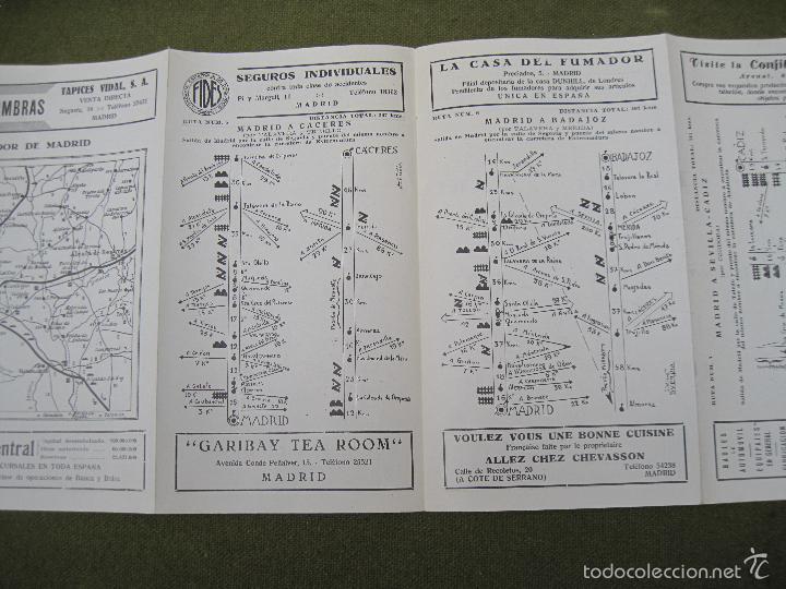 Mapas contemporáneos: GUIA RAGAY 1934 -1ª. EDICION DE CARRETERAS. - Foto 8 - 58285065