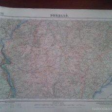 Mapas contemporáneos: PERELLO – MILITAR – MAPA DEL SERVICIO GEOGRÁFICO DEL EJERCITO – AÑO 1955 - MEDIDAS 69,5 X 49,8. Lote 58325831