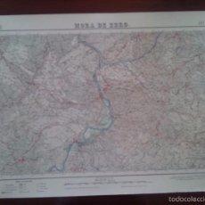 Mapas contemporáneos: MORA DE EBRO – MILITAR – MAPA DEL SERVICIO GEOGRÁFICO DEL EJERCITO – AÑO 1952 - MEDIDAS 69,5 X 49,8. Lote 58325941