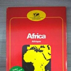 Mapas contemporáneos: MAPA DE AFRICA 1:9000000, MUY DETALLADO. Lote 58326248