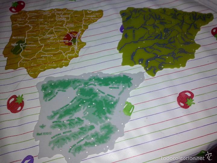 dfh 3 mapa plantilla escolar de peninsula iber  Comprar Mapas
