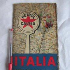 Mapas contemporáneos: MAPA DE CARRETEREAS ITALIA AÑOS 50. Lote 58584692