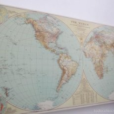 Mapas contemporáneos: MAPA MUNDI. Lote 59468465