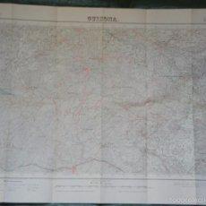 Mapas contemporáneos: GUISONA MAPA INSTITUTO GEOGRAFICO Y CATASTRAL 1:50000 NUM.361 - EDICION 2A 1952. Lote 59519463