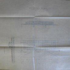 Mapas contemporáneos: CASINO DE MADRID 54 X 46 APROX PISO PARA EL PATIO PRINCIPAL. Lote 59523119