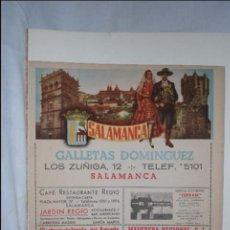 Mapas contemporáneos: MAPA DE SALAMANCA ,. Lote 60076987