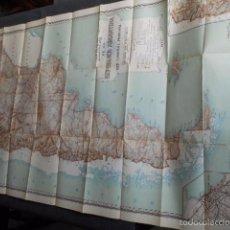 Mapas contemporáneos: GRAN MAPA DE LA REPÚBLICA ARGENTINA. AÑO 1944 VIALIDAD NACIONAL EXCELENTE ESTADO. Lote 195476110