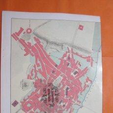 Mapas contemporáneos: LAMINA - LA CIUDAD DE CACERES - PRECIOSAS FOTOS EPOCA 1912/13. Lote 60373363
