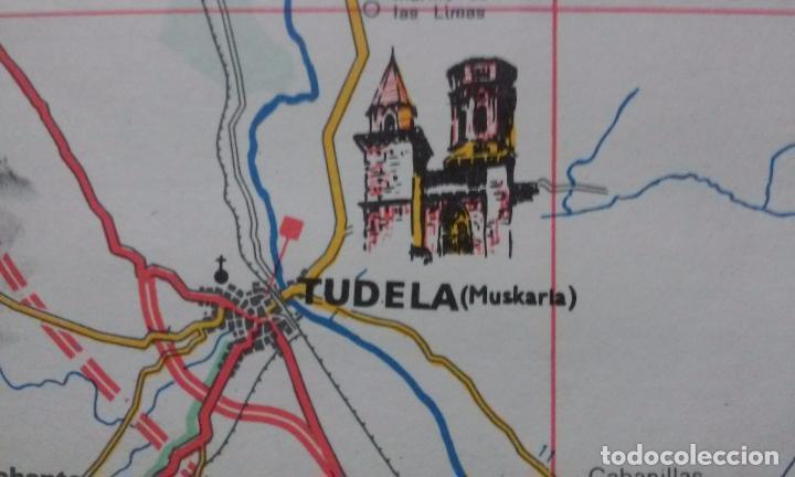 Mapas contemporáneos: MAPA DE EUSKAL HERRIA CAJA DE AHORROS VIZCAINA AÑOS 60-70 - Foto 9 - 61575996