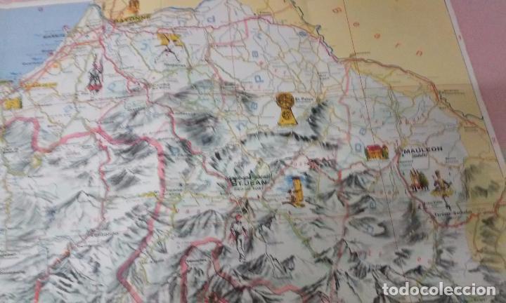 Mapas contemporáneos: MAPA DE EUSKAL HERRIA CAJA DE AHORROS VIZCAINA AÑOS 60-70 - Foto 11 - 61575996