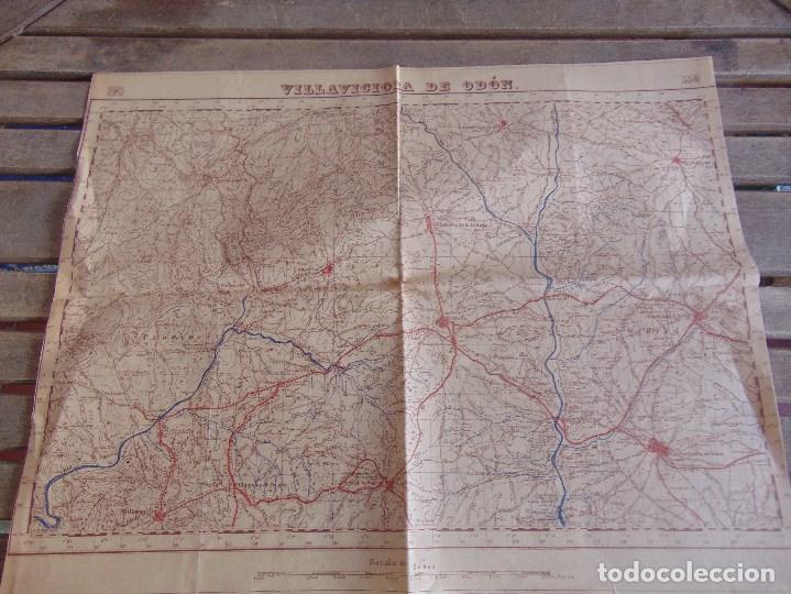 Mapa Villaviciosa De Odon.Mapa Villaviciosa De Odon 60 X 45 Cm