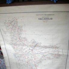 Mapas contemporáneos: 1940 - MAPA ESCUELA EN TELA - VALLADOLID - PROVINCIA. Lote 62369820