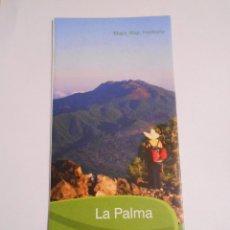 Mapas contemporáneos: MAPA DE LA ISLA DE LA PALMA. ISLAS CANARIAS. TDKP7. Lote 63735671