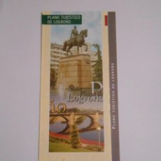 Mapas contemporáneos: PLANO TURISTICO DE LOGROÑO. TDKP7. Lote 63788731