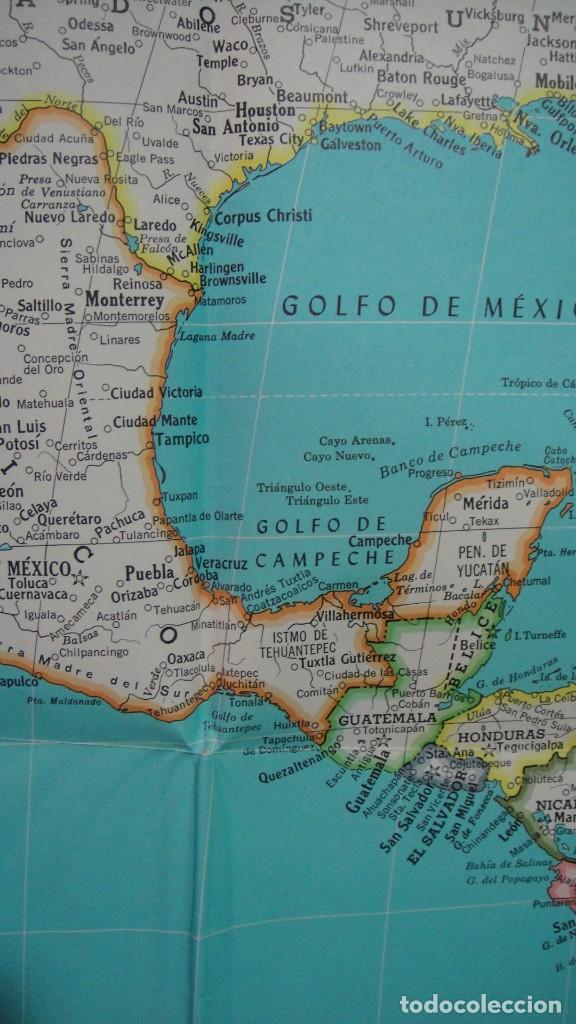 Mapa Superior Hammond De America Latina Buy Contemporary Maps At Todocoleccion 64384075