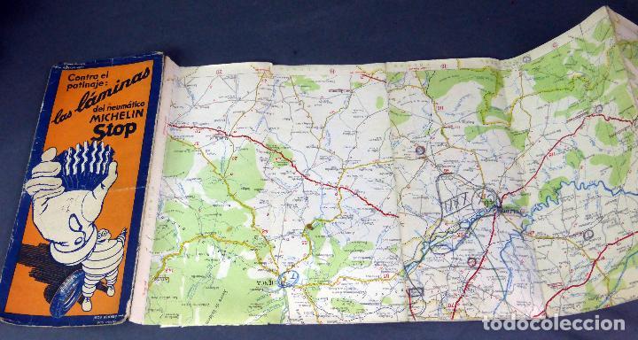 michelin mapa mapa michelin españa alrededores madrid años 40   Comprar Mapas  michelin mapa
