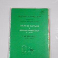 Mapas contemporáneos: MAPA DE CULTIVOS Y APROVECHAMIENTOS. E. 1: 50.000. LODOSA (NAVARRA). MINISTERIO DE AGRICULTURA TDKP9. Lote 67089921