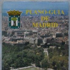 Mapas contemporáneos: PLANO GUIA DE MADRID. 1984. Lote 68993037