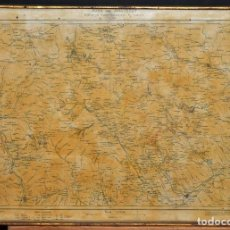 Mapas contemporáneos: MAPA DEL MONTSENY PUBLICADO POR EL CENTRE EXCURSIONISTA DE CATALUNYA (AÑO 1924). Lote 111852712