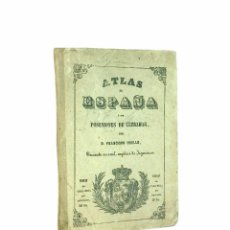 Mapas contemporáneos: LOGROÑO // ATLAS DE ESPAÑA Y SUS POSESIONES DE ULTRAMAR POR D. FRANCISCO COELLO // ((1851)). Lote 45876085