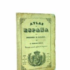 Mapas contemporáneos: SEGOVIA // ATLAS DE ESPAÑA Y SUS POSESIONES DE ULTRAMAR POR D. FRANCISCO COELLO // (1849). Lote 45876139