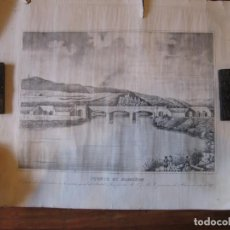 Mapas contemporáneos: -PUENTE DE ARMIÑÓN, ÁLAVA-.AÑO 1847. GRABADO ORIGINAL DE ÉPOCA.. Lote 71716187