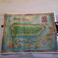 Mapas contemporáneos: PRECIOSO MAPA DE PUERTO RICO,VER FOTOS . Lote 72876071