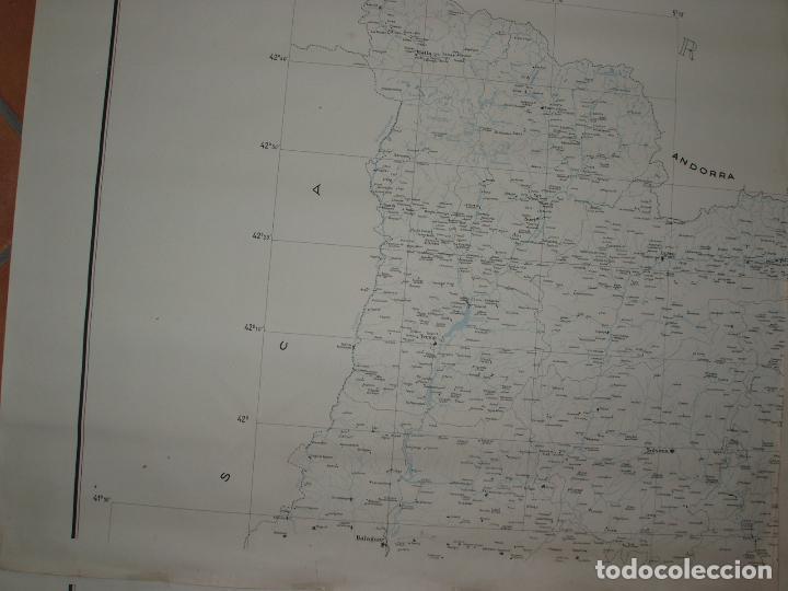 Mapas contemporáneos: GIGANTE MAPA DE LES OBRES PUBLIQUES DE CATALUNYA 1936. GENERALITAT DE CATALUNYA. - Foto 7 - 74726327