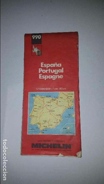 Guia Michelin Espana Portugal 1991 990 Sold At Auction