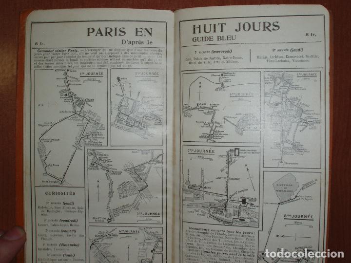 Mapas contemporáneos: PLAN DE PARIS EN 12 COUPURES. MUY COMPLETO, CALLEJERO, MAPAS, METRO, AUTUBUS, CURIOSIDADES.... - Foto 5 - 78343009
