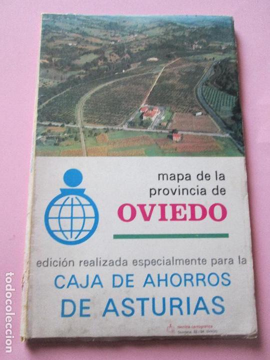 mapafisicoprovincia de oviedocaja de asturia  Comprar Mapas