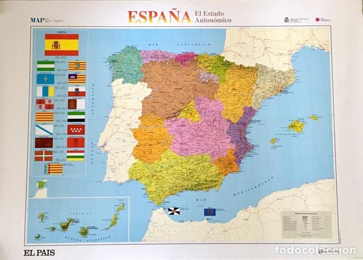 Mapa De Espana El Estado Autonomico El Pais 1 Sold Through
