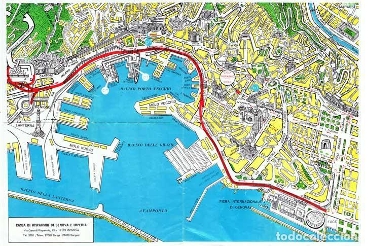 mapa de genova italia plano centro de la ciudad de génova, italia. ed   Comprar Mapas  mapa de genova italia