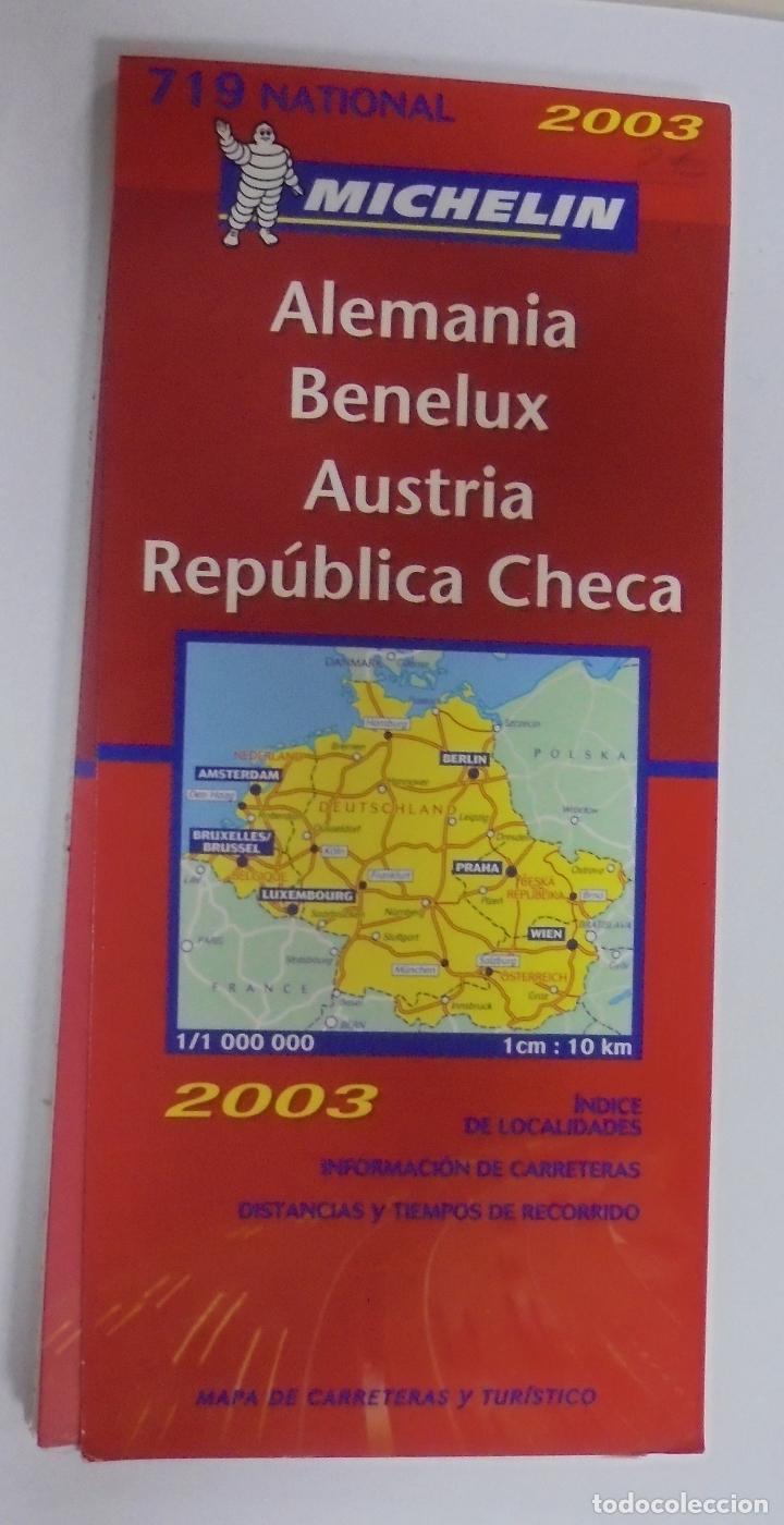 mapa de carreteras y turistico. michelin. alema - Comprar