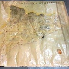 Mapas contemporáneos: MAPA DE CARRETERAS DE CATALUÑA. GENERALITAT DE CATALUNYA. ESPAÑA. 1936.. Lote 82537280
