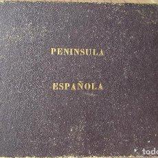 Mapas contemporáneos: MAPA PENÍNSULA ESPAÑOLA POR D. FRANCISCO COELLO: AÑO 1.861. Lote 83665956
