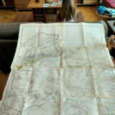 Mapas contemporáneos: PLANO GENERAL DE SANTANDER Y SU BAHIA JUNTA DEL PUERTO DE SANTANDER 1970. Lote 84066080