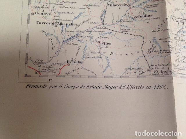 Mapas contemporáneos: Mapa militar itinerario de España hoja 66 / ALBACETE - Foto 2 - 26576026