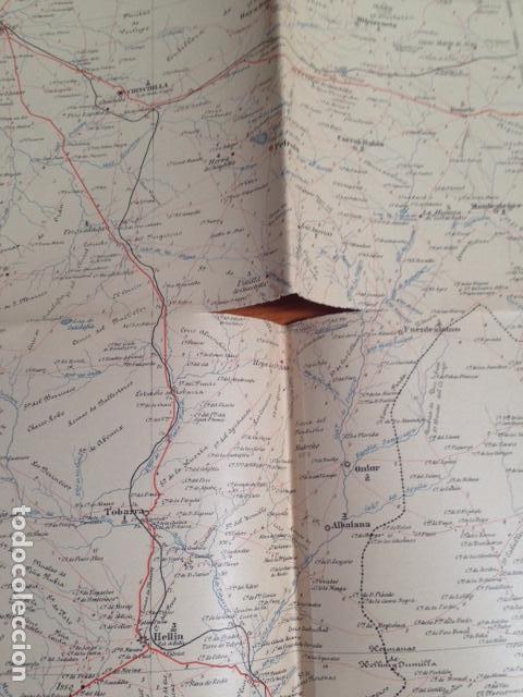 Mapas contemporáneos: Mapa militar itinerario de España hoja 66 / ALBACETE - Foto 3 - 26576026