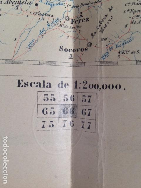 Mapas contemporáneos: Mapa militar itinerario de España hoja 66 / ALBACETE - Foto 5 - 26576026