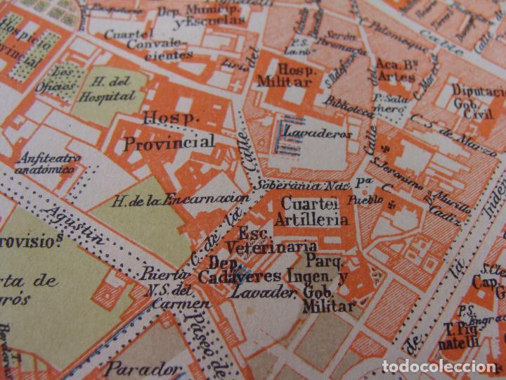 Mapas contemporáneos: PLANO DE ZARAGOZA. 1898. CROMOLITOGRAFÍA DE MONTANER Y SIMÓN. 22X30 CM - Foto 7 - 84963188