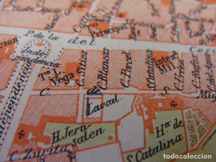 Mapas contemporáneos: PLANO DE ZARAGOZA. 1898. CROMOLITOGRAFÍA DE MONTANER Y SIMÓN. 22X30 CM - Foto 8 - 84963188