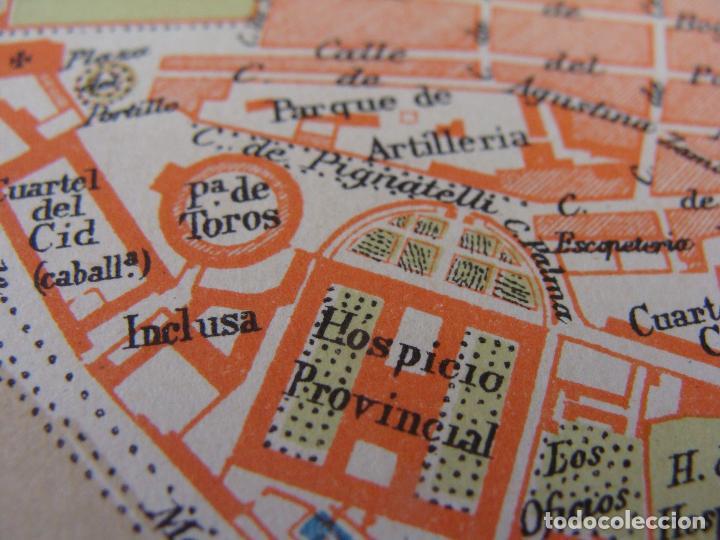 Mapas contemporáneos: PLANO DE ZARAGOZA. 1898. CROMOLITOGRAFÍA DE MONTANER Y SIMÓN. 22X30 CM - Foto 9 - 84963188