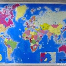 Mapas contemporáneos: CARTEL. MAPAMUNDI. 70,50 X 100 CM. Lote 85587564