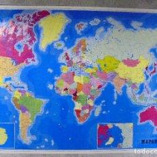 Mapas contemporáneos: CARTEL. MAPAMUNDI. 70,50 X 100 CM. Lote 85589556
